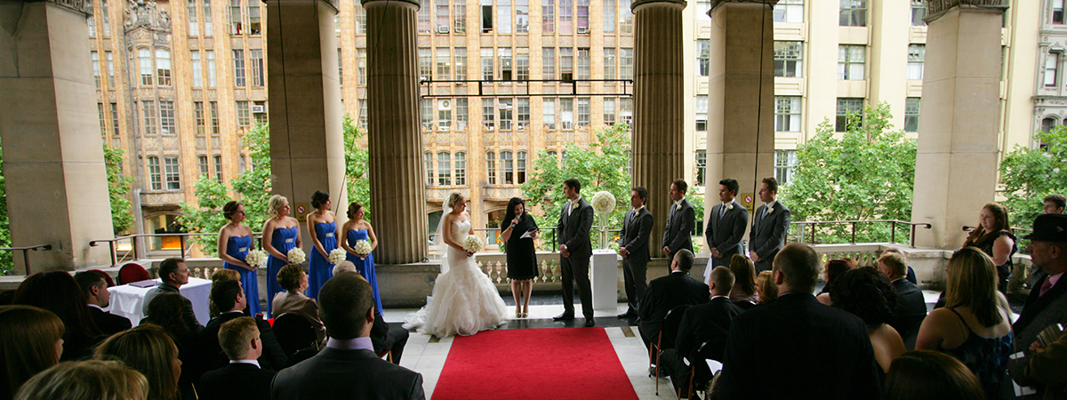 The process of how we design a fabulous marriage ceremony together